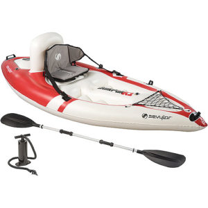 Sevylor QuickPak Kayak With Accessories