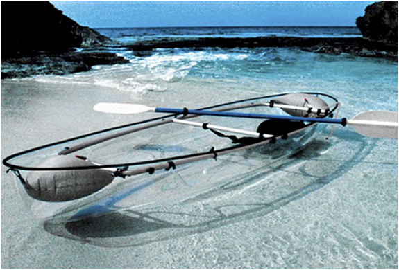 awesome clear kayak