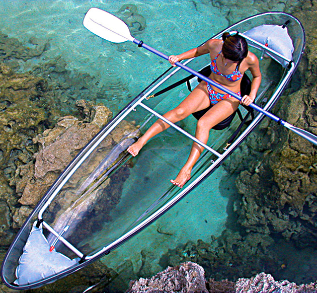 driftsun clear bottom kayak