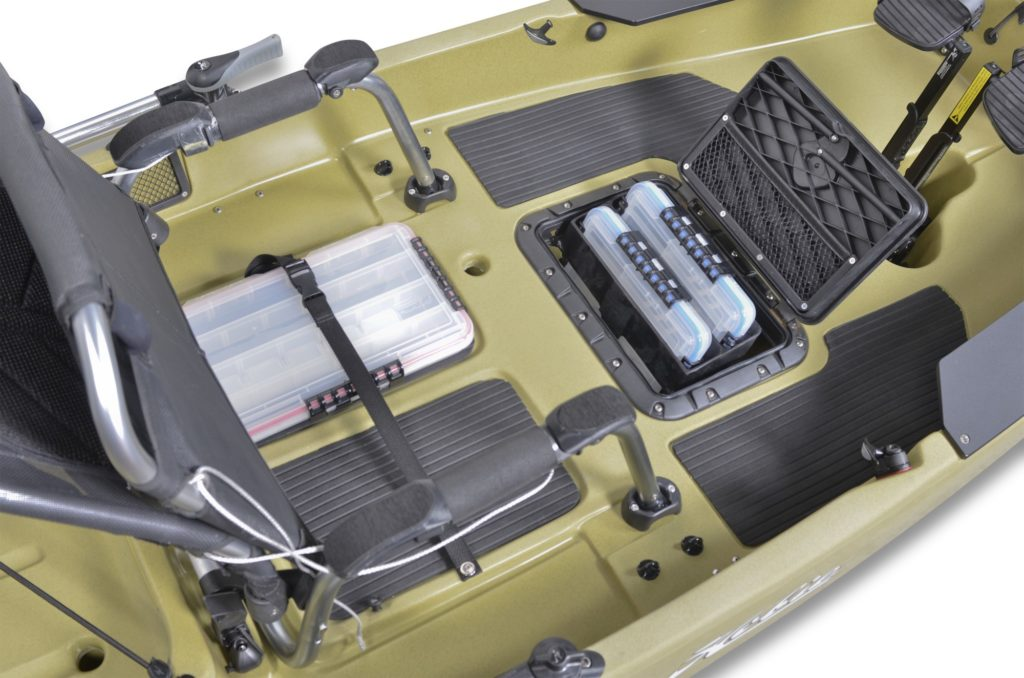 hobie Pro Angler 12 storage compartments