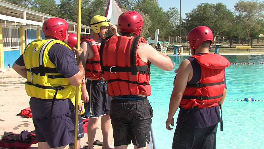 training for water safety