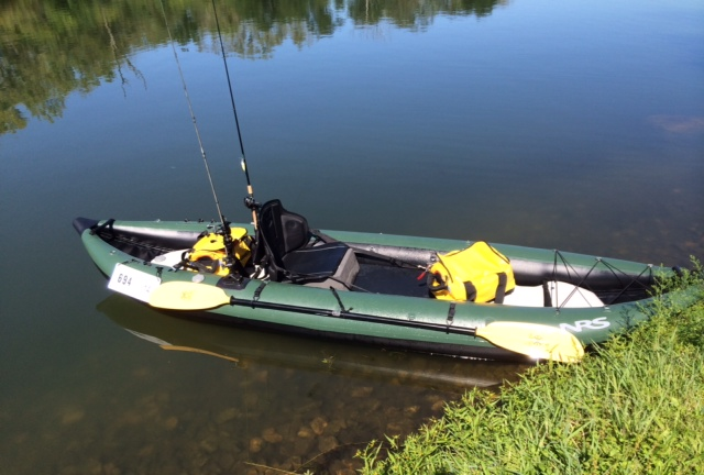inflatable angler kayak