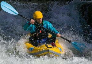 rapid kayaking
