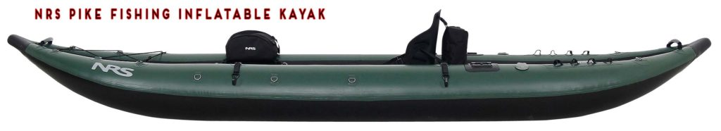 NRS Pike Fishing Inflatable Kayak for anglers
