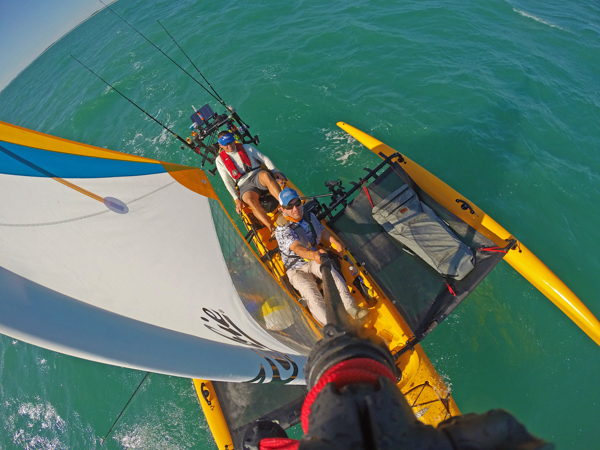 overview of the Hobie Sail kayak