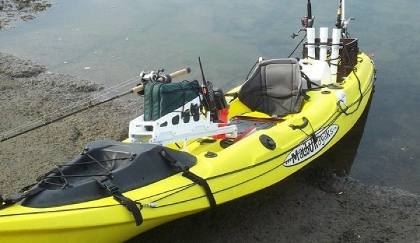 Yellow X Factor Kayak