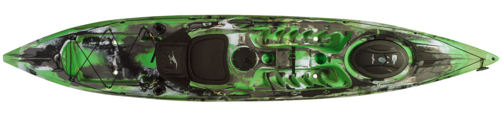 green camoflouge prowler 13 fishing kayak!