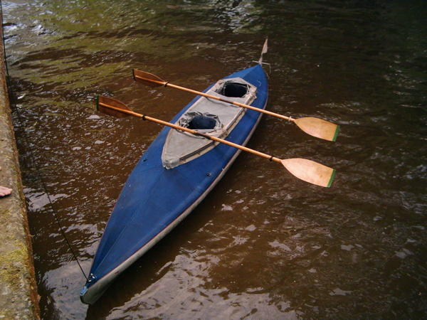 early type of kayak