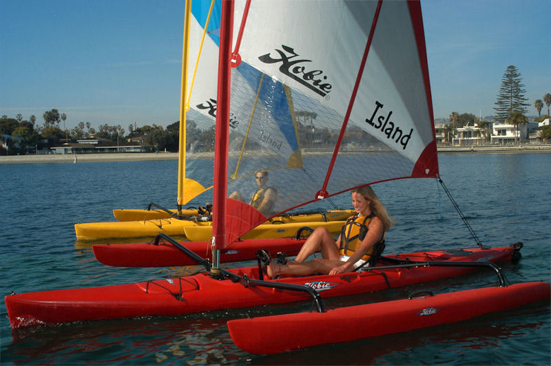 hobie sailing kayak