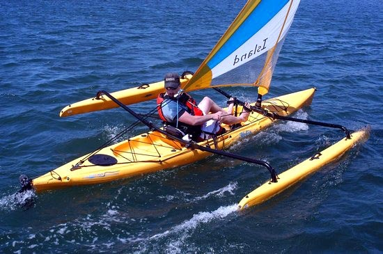 yellow sail kayak