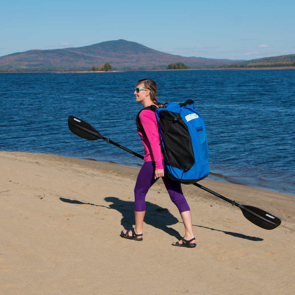 Carrying a Sea Eagle inflatable kayak