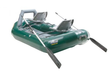 Outcast's Osg Striker angling raft