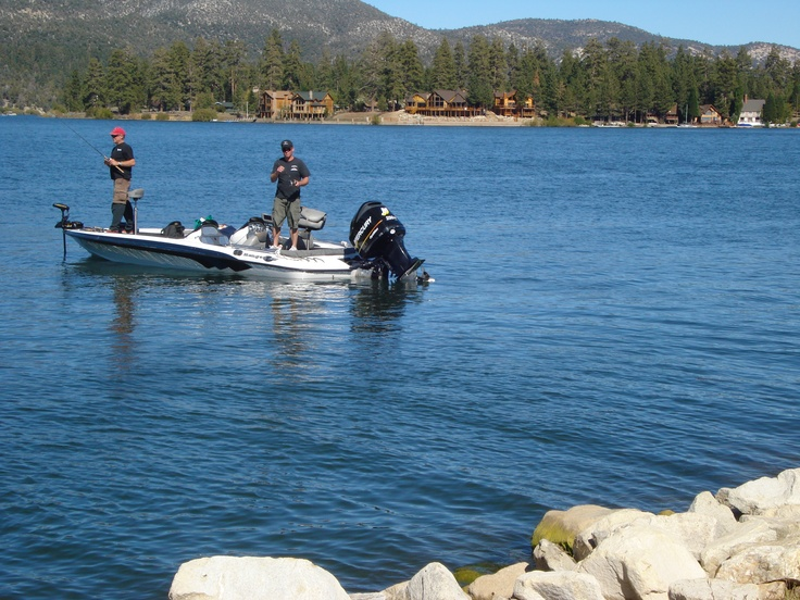 Big Bear Fishing