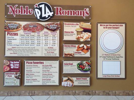 Noble Roman's Pizza in Big Bear